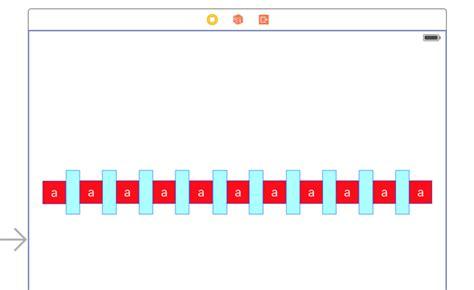 xcode set layout constraints ios xcode 7 constraints equal spacing between