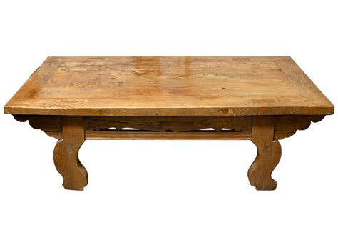 Antique Coffee Table Antique Asian Pine Daybed Coffee Table Omero Home