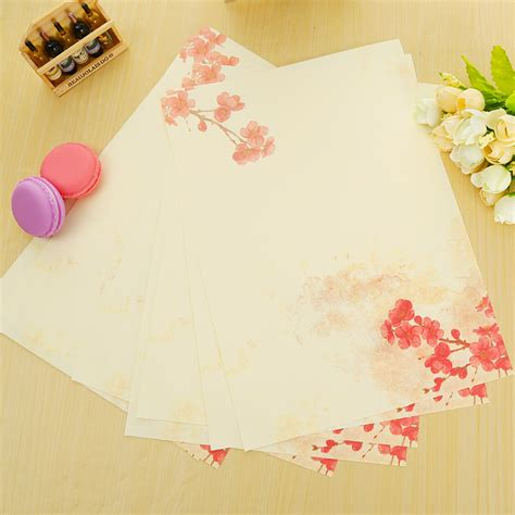 cheap writing paper buy wholesale flower writing paper from china