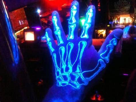 uv tattoo hand hand skeleton uv tattoo on left hand