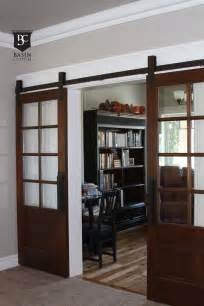 interior barn doors with glass best 25 glass barn doors ideas on barn door