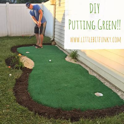 putting green for backyard little bit funky how to make a backyard putting green