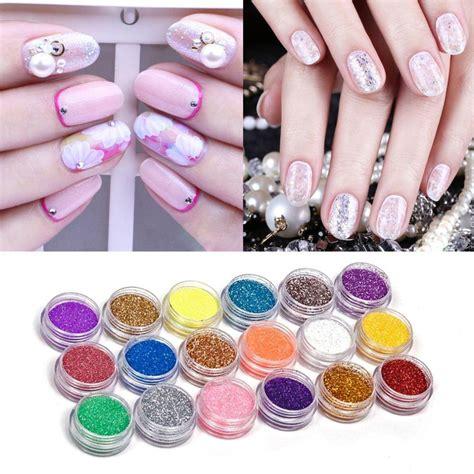 nail art glitter dust tutorial nail art acrylic glitter nail art tool kit acrylic uv