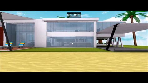 modern house roblox modern house
