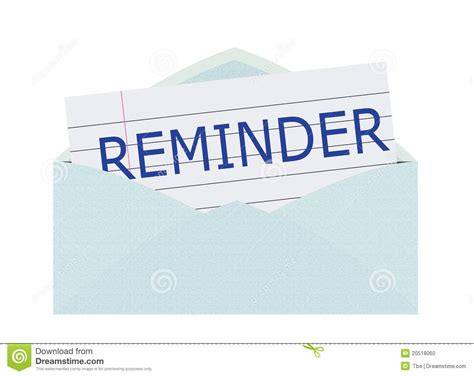 Payment Reminder Letter Sles Free reminder notice clip related keywords reminder