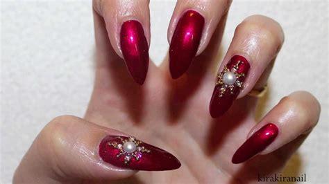 christmas pattern nail st nail art designs elegant christmas holiday nails