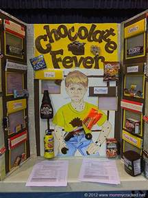 Chocolate Fever Book Report Reading Fair Projects Part 2