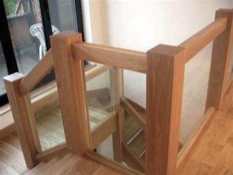 glass landing banister balustrades stair balustrades