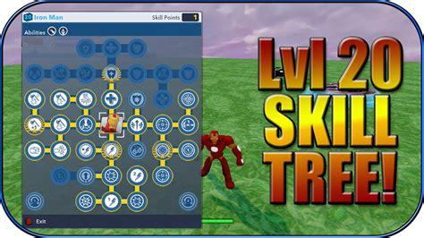 disney infinity iron man level skill tree youtube
