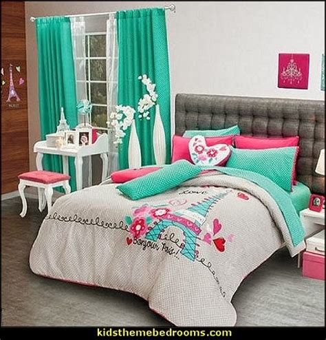 paris themed bedding pink poodles paris style bedroom decorating paris style