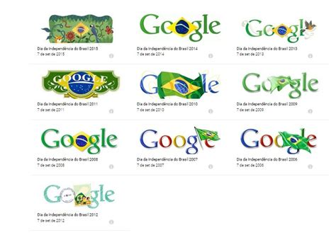 Independ 234 Ncia Do Brasil Ganha Doodle Do Neste 7 De