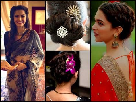 hairstyles at home for saree 12 awesome saree hairstyles that you have never seen