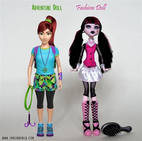 fashion doll lines meet ember the worlds adventure doll indiegogo