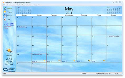 Desktop Calendar Windows Live Weather Wallpaper Windows 10 Wallpapersafari