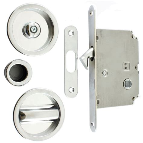 sliding bathroom door lock buy bathroom sliding door kit with flush edge pull handle chrome