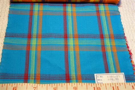 Patchwork Madras Fabric - madras plaid indian madras plaid fabric patchwork