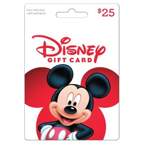 25 disney gift card bj s wholesale club - Bjs Disney Gift Cards