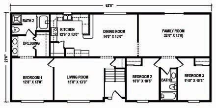 modular raised ranch floor plans mountain modular raised ranch floor plans