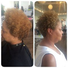 using devacurl products in african american hair my haircolor work on pinterest medium blonde salons and
