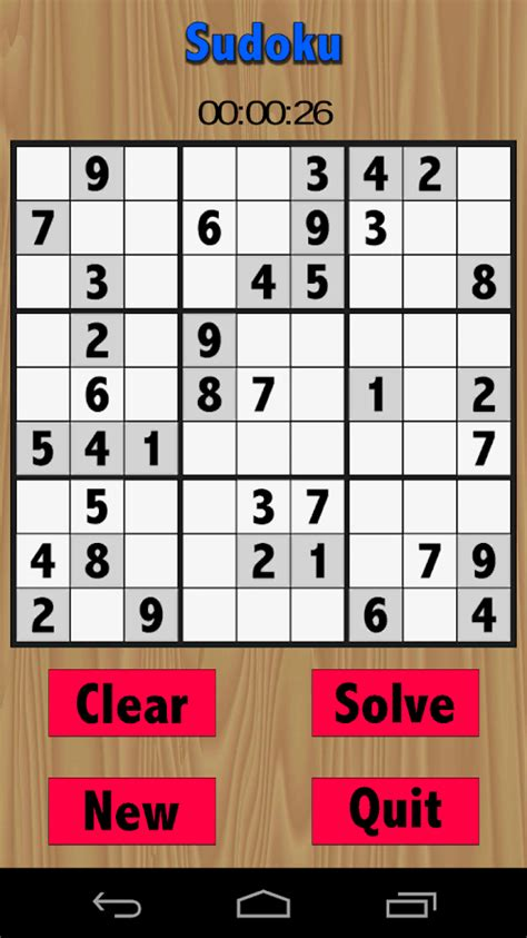 printable sudoku with pencil marks free sudoku game android apps on google play