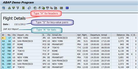 alv tutorial in sap abap sap abap tutorial display header in abap alv grid