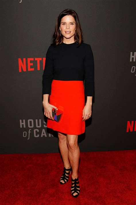 house of cards season 4 premiere neve campbell at house of cards season 4 premiere in wahington 02 22 2016