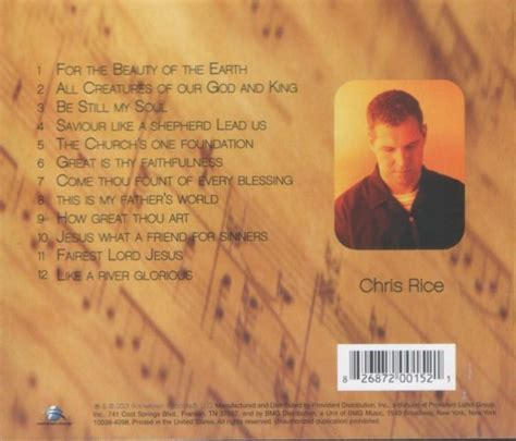 chris rice the living room sessions 2001
