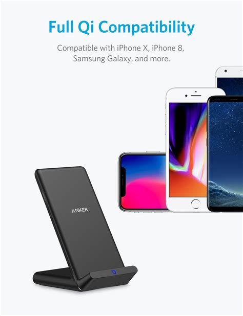 anker wireless charger wireless charger anker qi certified wireless charger for
