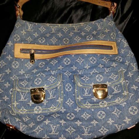 Dmj Denim Beggy Lv 43 louis vuitton handbags louis vuitton denim baggy gm from s
