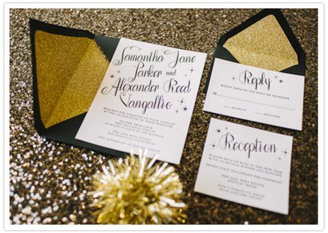 black white gold new year s wedding ideas wedding inspiration 100 layer cake - Black White And Gold Wedding Invitations