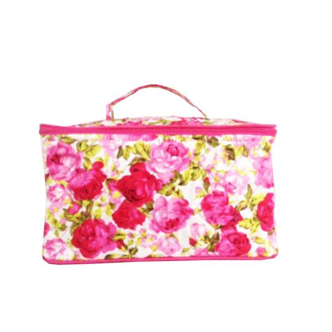 Quilted Toiletry Bag by Quilted Thai Cotton Toiletry Bag Handbag Asia