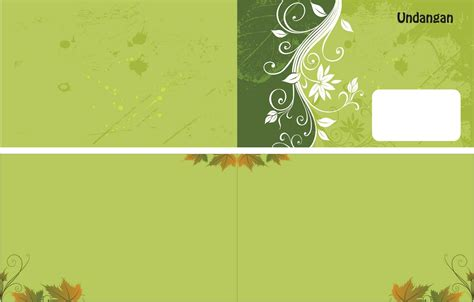 desain kartu undangan pdf contoh desain undangan