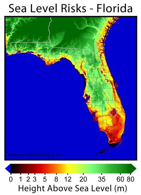 florida climate change map 13 terms florida s department of environmental protection