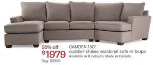 Sectional Sofas Utah camden 150 quot cuddler chaise sectional sofa 1979 00 50
