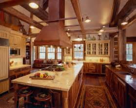 Western Home Interiors Western Homestead Ranch Kitchen Rustic Kitchen
