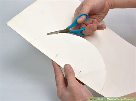 How To Make Honeycomb Paper - 3 ways to make a paper pompom wikihow