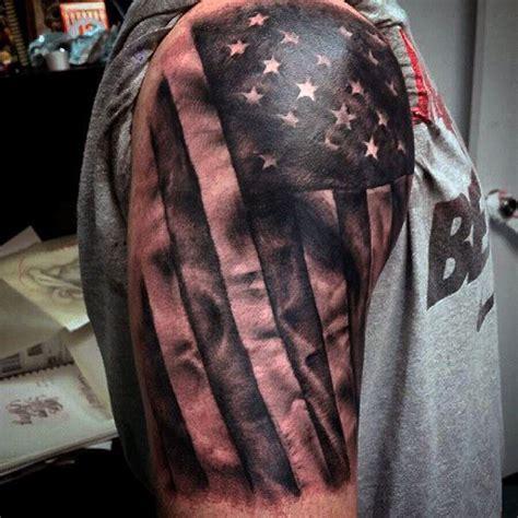 patriotic tattoo ideas arm american flag design on tattoos