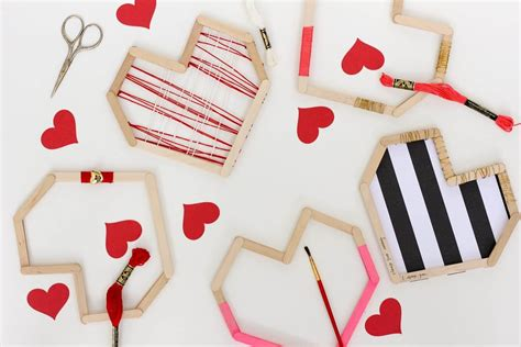 d i y picture of easy andfun diy posicle sticks valentines 1
