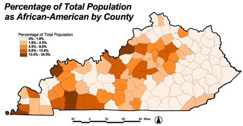 kentucky demographic map is kentucky the south or the midwest louisville