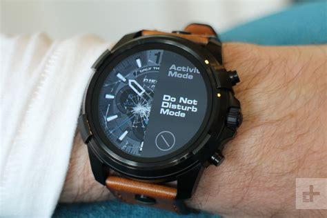 diesel on guard smartwatch review digital trends