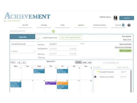 blueprint program online achievement blueprint online poductivity software