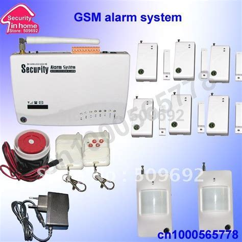Gsm Alarm System Canggih wireless home security gsm alarm system with 6pcs window