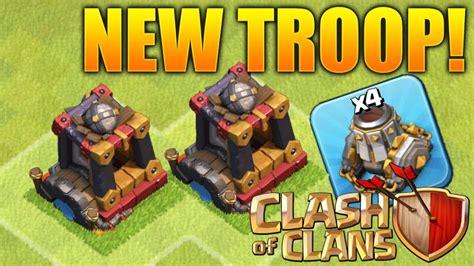 clash clans troops clash of clans new troop update dark barracks level 7