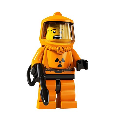 Haz Mat by The Duckling Lego Collectible Minifigure Series 4
