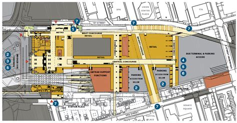 union station dc floor plan union station air rights development plan unveiled