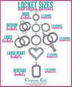 How Many Charms Fit In Origami Owl Lockets - 1000 images about origami owl on living