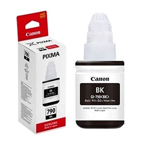 Cartridge Canon 790 Gi790 Gi 790 Gi 790 Tinta Printer Botol Kuning canon gi 790 black ink logon shopping malaysia