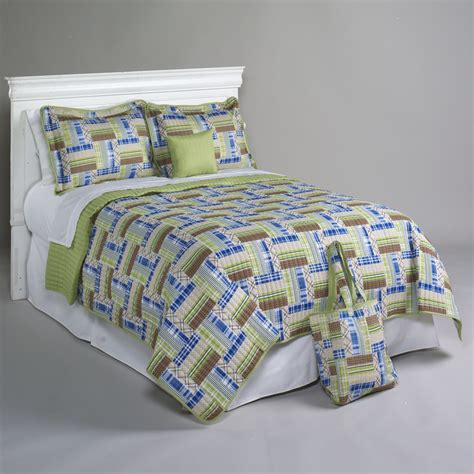 Kmart Quilts Sets by Essential Home Happy Khaki 5 Quilt Set Home Bed