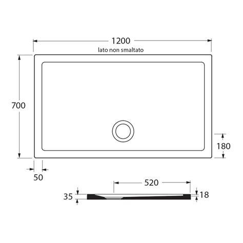 piatto doccia 70x120 ideal standard azzurra piatto doccia puro 70x120 altezza 3 5 cm