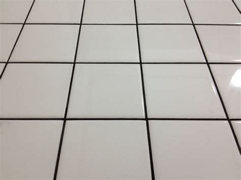 white floor l white floor tile with black grout just looks bad my home zyouhoukan